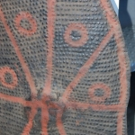 cameroon mofu hand forged metal shield