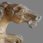 mexican traveling carousel horse