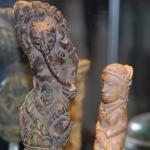 antique indonesian kris handles